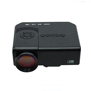 Powerful mini led projector support 1080p hd video with for Small powerful projector
