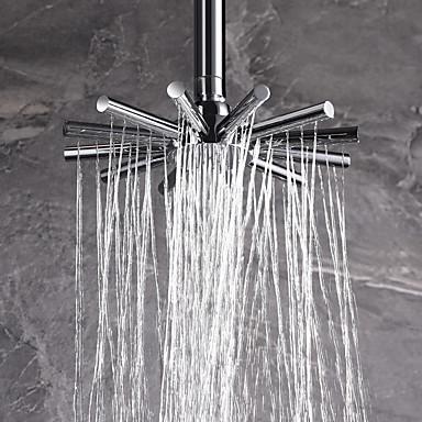 Contempor neo ducha lluvia cromo caracter stica for efecto for Ducha lluvia