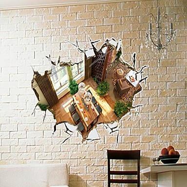 Architettura adesivi murali adesivi 3d da parete adesivi for Adesivi parete 3d