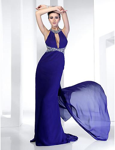 Vestido de festa azul - Look do dia de Carolina Ferraz