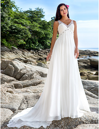 Lanting bride a line petite plus sizes wedding dress for Wedding dresses petite sizes