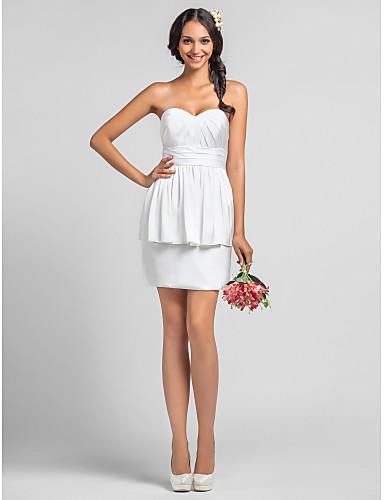 Vestido peplum branco