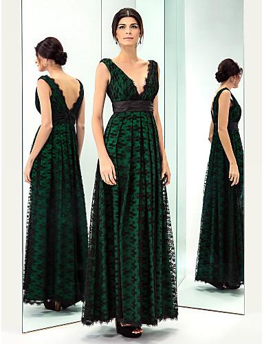 Vestido de madrinha de casamento verde