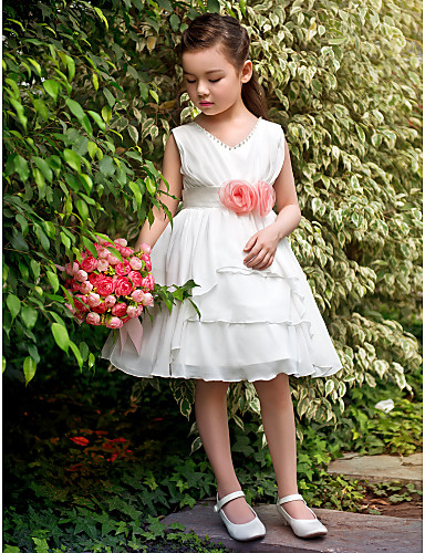 Vestido de menina claro