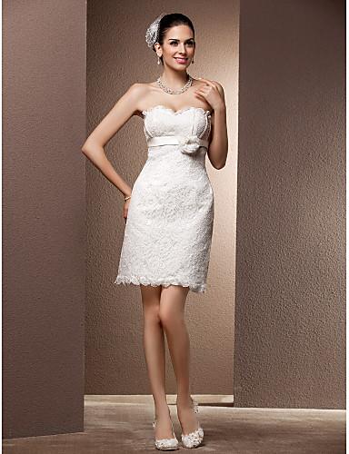 Свадебное платье-футляр