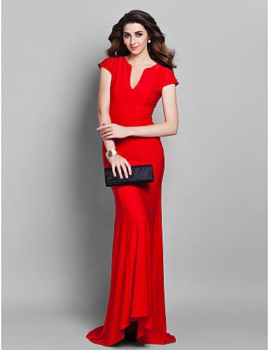 Vestidos de festa vermelhos de Carol Castro