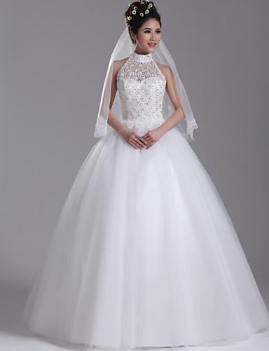 Vestido De Noiva De Gola Alta Com Renda 5 Car Interior