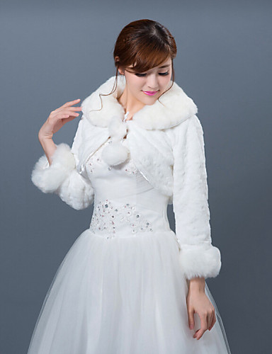 Winter wedding robe coat bridesmaid dresses shawl 4431867 for Winter shawls for wedding dresses