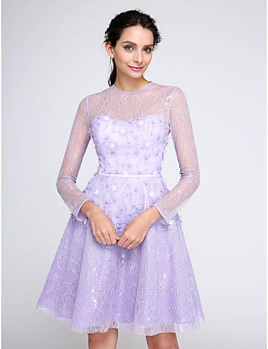 ts couturer soiree cocktail robe trapeze bijoux mi long With robe de mariée dentelle avec parure bijoux soirée