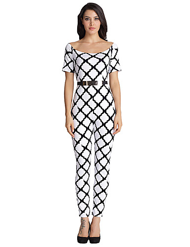 Women's Petite Slim Jumpsuits,Going out / Casual/Daily / Holiday Sexy / Simple / Street chic ...