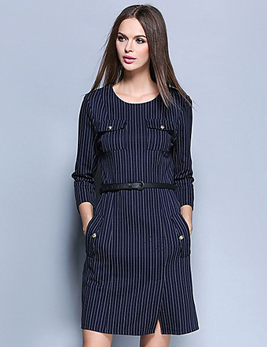 Women's Casual/Daily Holiday Sophisticated Bodycon Dress ... - photo#19