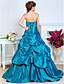 TS Couture Prom Formal Evening Quinceanera Sweet 16 Dress - Open Back A-line Ball Gown Princess Strapless Sweetheart Floor-length Taffeta