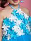 Lovely Halter Neckline Ball Gown Tulle Flower Girl Dress