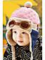 Детская стильная теплая плюшевая шапка