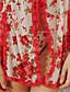 Chemises & Blouses / Ultra Sexy Vêtement de nuit Femme Fleur Organza Multi-couleur Aux femmes