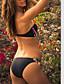 Kvinner Bohem Bandeau Bikini Nylon / Spandex