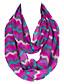 Unisex Vintage / Sødt / Fest / Casual Øvrigt / Polyester Halstørklæde-Trykt mønster Uendelighedshalstørklæde