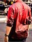 Herren Einfarbig Einfach Party Hemd,Hemdkragen Sommer Kurzarm Polyester