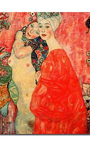 ručně malované olejomalba od Gustav Klimt s napnuté rámem