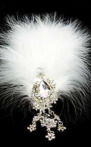 Women's Feather Headpiece - Wedding/Special Occasion Flowers