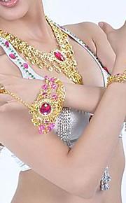 metaal met strass buikdans sieraden set meer kleuren beschikbaar