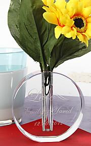 bordcenter personlig krystall runde vase bord deocrations