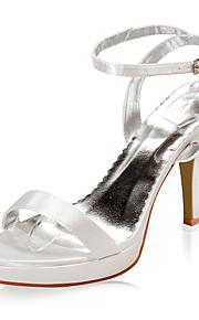 Bruiloft Schoenen - Champagne / Ivoor - Huwelijk - Hoge hakken - Sandalen - voor - Dames