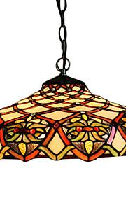 CEREDIGION - Lüster Tiffany mit 2 Glühbirnen