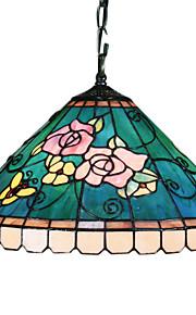 LINN - Lüster Tiffany mit 2 Glühbirnen