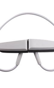 Hot Koop muziek sport mini stereo headset mp3-speler 8GB (wit)