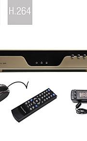 ultra lage prijs 4-kanaals H.264 DVR (vga-uitgang, netwerk)