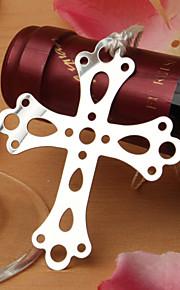 Marque-page & ouvre-enveloppe(Blanc / Argent)Thème classique-Non personnalisée Acier inox