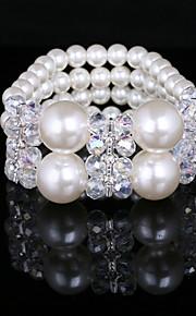 Dames Streng Armbanden Imitatie Parel