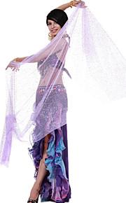 dancewear spandex prestaties buikdans sluier voor dames meer kleuren