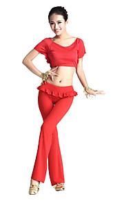dancewear cystal bomuld / viscose mavedans outfit til damer flere farver
