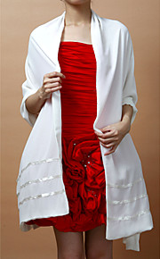 Bruiloft Wraps / Omslagdoeken Sjaals Mouwloos Doek Als op de foto Bruiloft / Feest/Avond