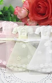 Baby Shower/Verjaardag Party Favors & Gifts # Bedank Tassen Organza Klassiek Thema Niet-gepersonaliseerd Ivoor/Roze/Wit