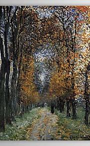 huile peints à la main peinture du paysage portrait avenue par Claude Monet