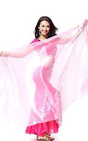 Prestatie dancewear polyester Veils voor dames meer kleuren
