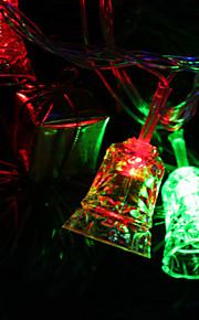 7M 30-LED Tinkle-Bell-Shaped fargerike lys LED Strip Fairy Lampe til Festival dekorasjon (220V)