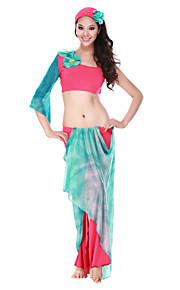 Prestatie dancewear kristal katoen Belly Dance outfit voor dames meer kleuren
