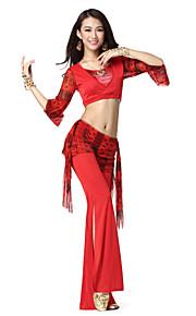 Prestatie Viscose Belly Dance outfit voor dames meer kleuren
