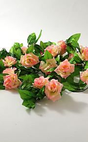 décoration de mariage 2m (6,5 pi) jolie rose décoration vigne