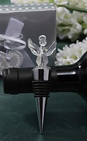 Cristal conception d'ange bouchon de bouteille