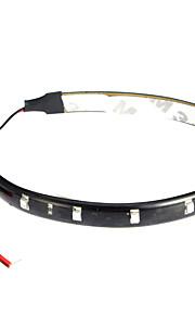 LED lysbånd 30CM, Rød / Hvid / Blue-Ray