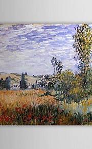 Célèbre peinture à l'huile Paysage à Vétheuil de Claude Monet
