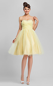 TS Couture® Cocktail Party / Sweet 16 Dress - Daffodil Plus Sizes / Petite Ball Gown / A-line Sweetheart / Strapless Knee-length Tulle