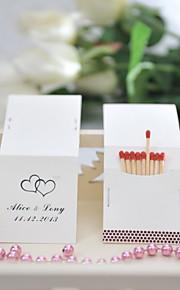 Kartonki Wedding Kunniamerkit-25Piece/Set Yksilöity Tulitikut eivät sisälly.