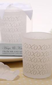 Thème classique Favors Candle Piece / Set Bougeoir Non personnalisé