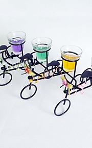 Belle Fer Tricycle en forme de porte bougies (plus de couleurs)
